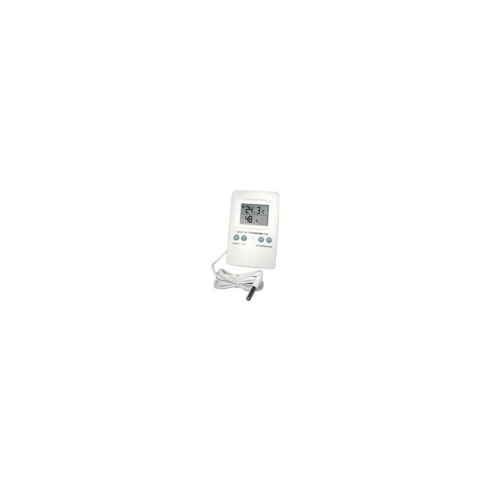 Termohigrómetro digital con sonda Cornwall