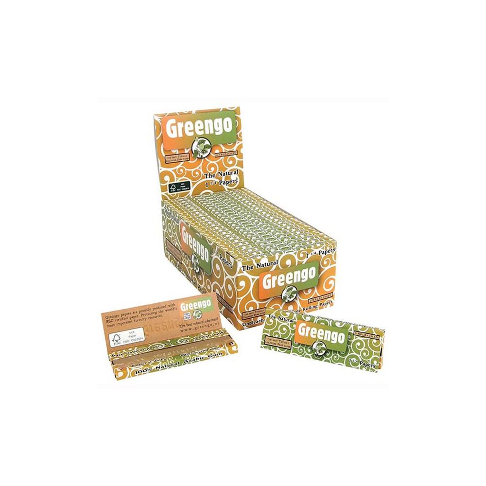 Papel Greengo 1 1/4 , librito de 50 papeles