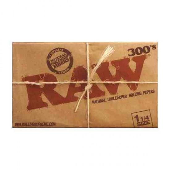 Papel Raw 1 1/4 , librillo de 300 papeles