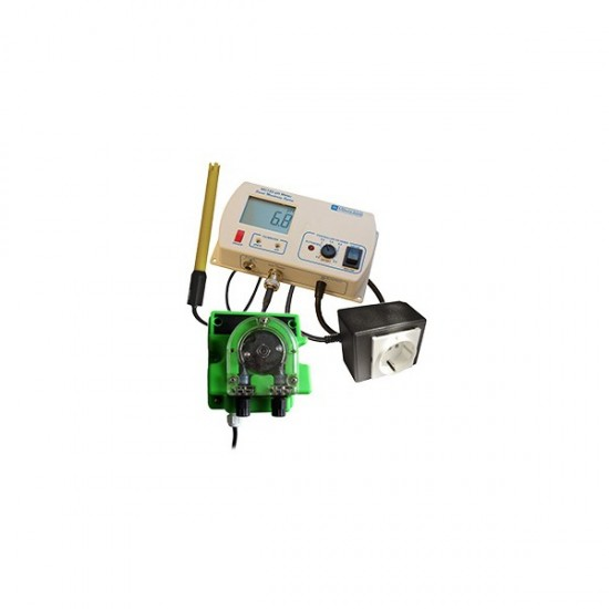 Controlador de pH + Bomba dosificadora MC720