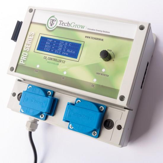 Controlador de Co2 T-2 PRO sin sensor TechGrow