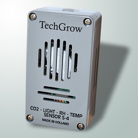 Sensor Co2, Temp, Humedad y Luz S-4 TechGrow
