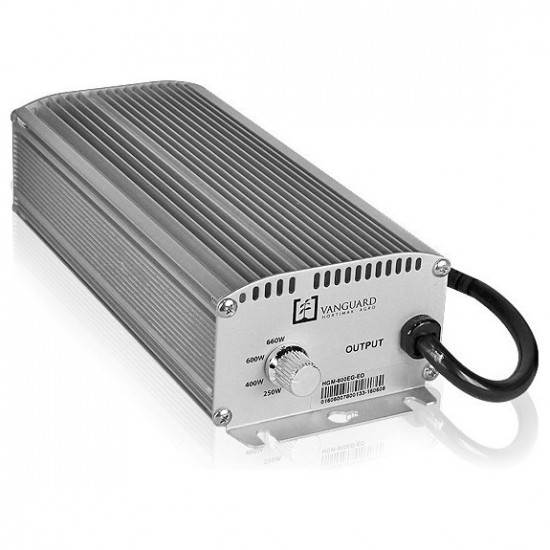 Balastro electronico Vanguard 600W DIMMABLE